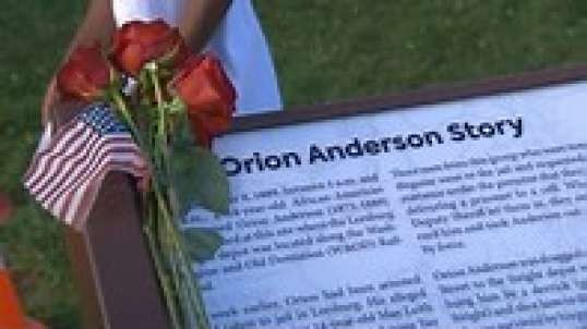 Orion Anderson, The youngest victim of lynching gets a memorial in his honor on Juneteeth