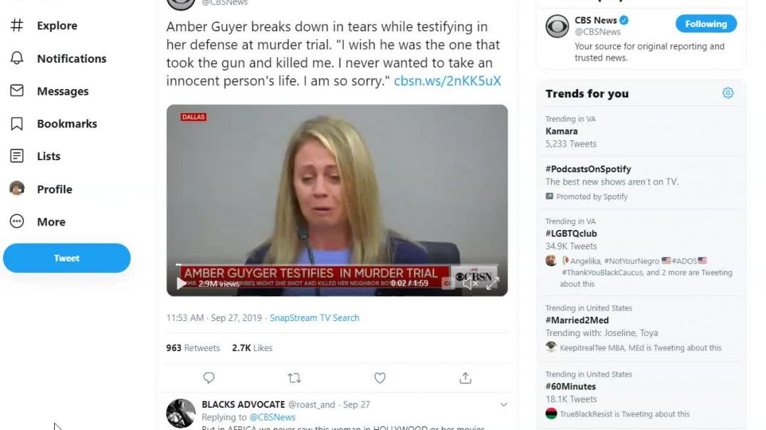 Do Not Feel sorry for Amber Guyger she is evil.mp4