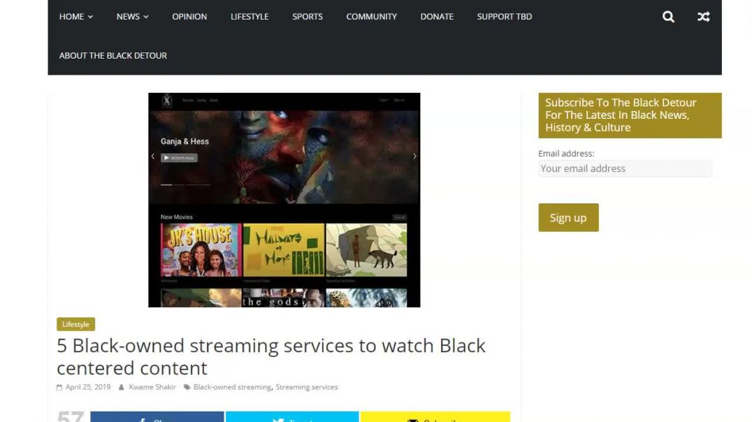 Support these Black owned Streaming Services.mp4