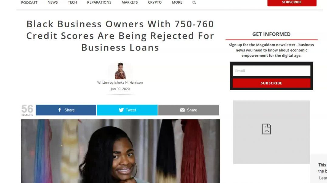 Black Business Owners getting rejected for Business Loans.mp4