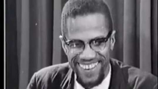 Malcolm X: Black People Have The Right To Defend OURSELVES. Rest In Power Malcolm X.