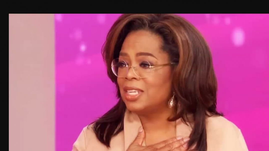 Oprah defends Gayle.mp4