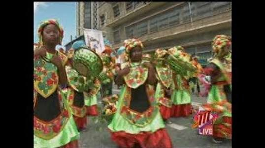 Carnival Season 2020: Junior Parade Of The Bands In Downtown POS in Trinidad and Tobago