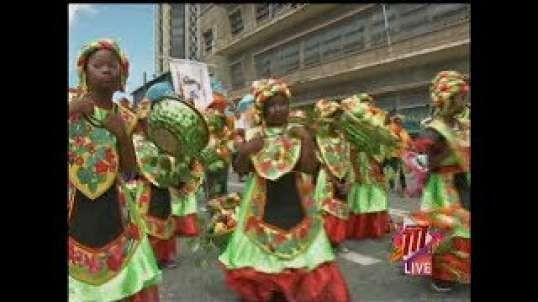 Carnival Season 2020: Junior Parade Of The Bands In Downtown POS in Trinidad and Tobago