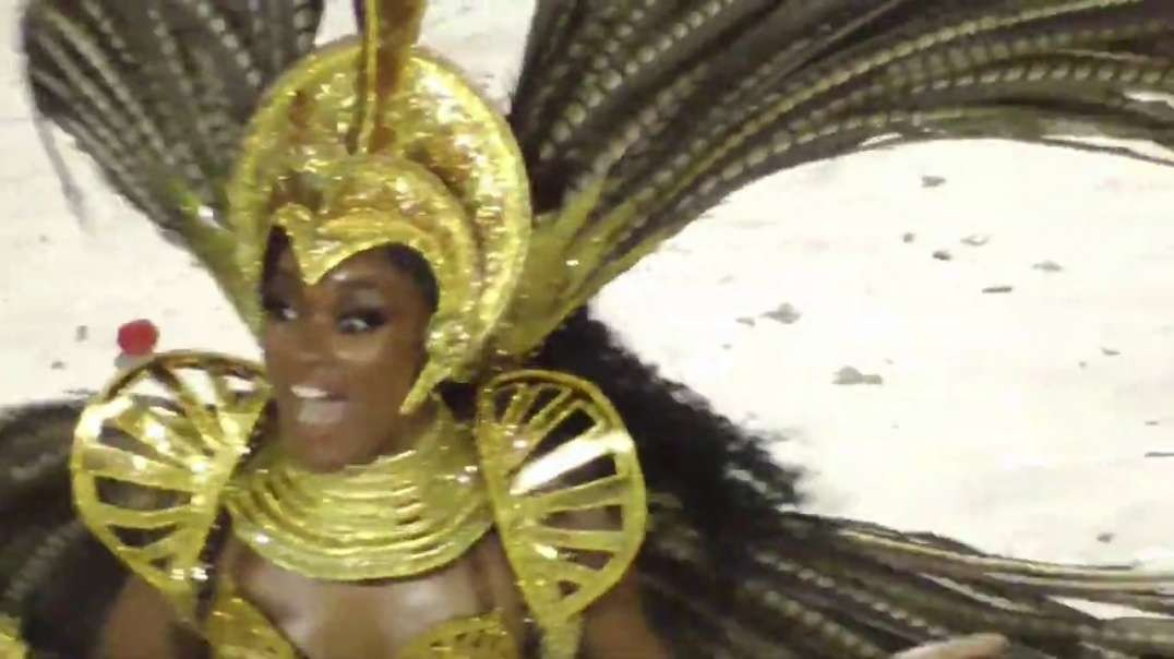 Carnival season 2020: Rio Carnival Parade of The Samba Schools. Rio Carnival 2020 part 1..