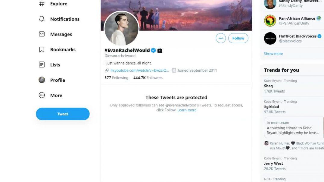 Evan Rachel Wood is a racist coward.mp4