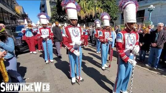 Carnival Season 2020: Talladega College Marching Band - Mardi Gras 2020