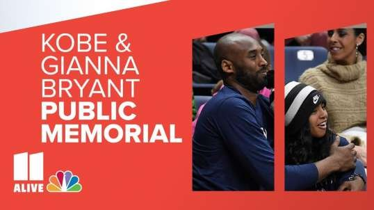 Kobe Bryant and Gianna Bryant Public Memorial LIVE STREAM