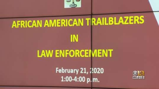 Black History Month Event Honors African Americans In Howard County Law Enforcement