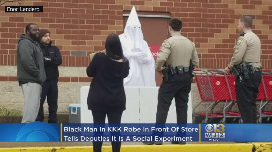 Virginia White Deputies Confront Black Man Wearing KKK Robe Outside Target
