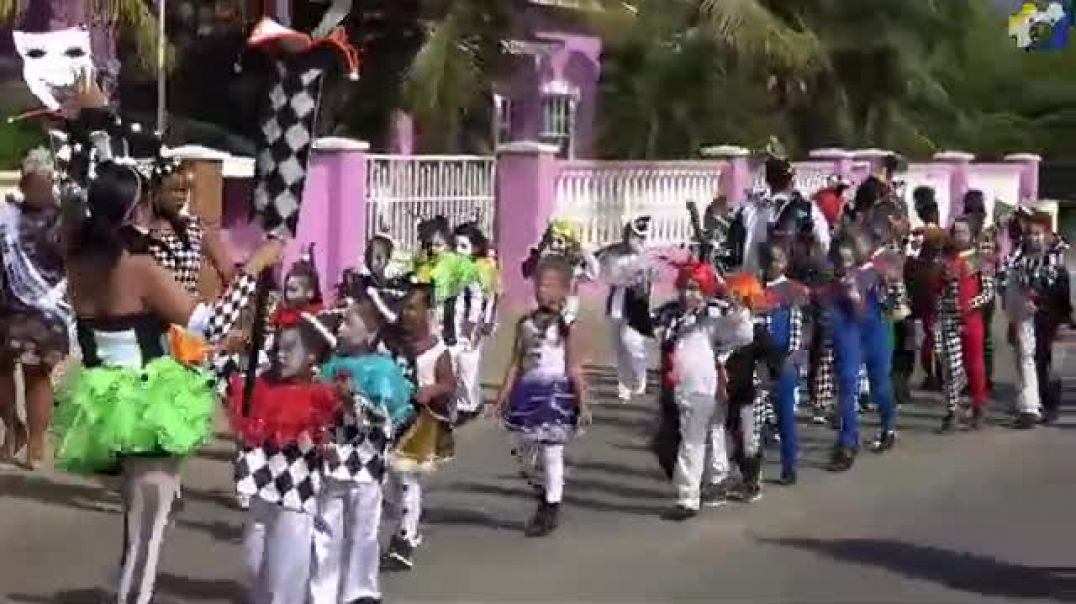Carnival Season 2020: Children Carnival Parade, Bonaire Karnaval 2020
