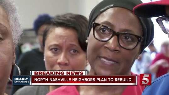 North Nashville neighbors come together to rebuild their neighborhood after tornado