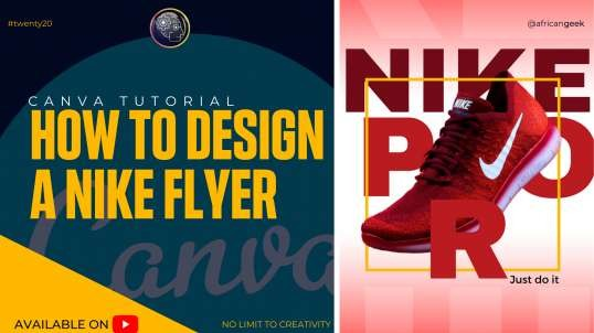 Canva Tutorial for Beginners -Design a flyer in Canva