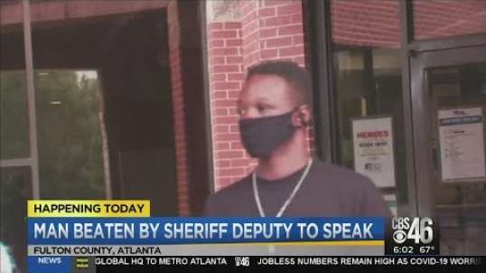 Man hit by Clayton County deputies released from Fulton County jail