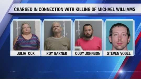 4 white suspects arrested for burning alive of Michael Williams