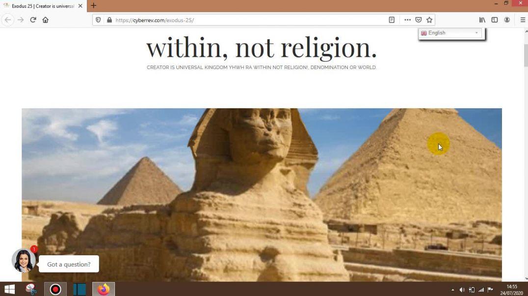 Exodus 25 - Holy Pyramid Power
